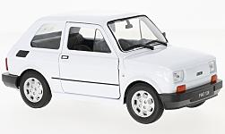 Modelcar - <strong>Fiat</strong> 126, white<br /><br />Welly, 1:24<br />No. 225198