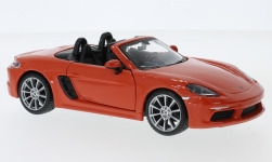 Modelcar - <strong>Porsche</strong> 718 Boxster, orange<br /><br />Bburago, 1:24<br />No. 225207