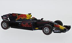 Modelcar - <strong>Red Bull</strong> day Heuer RB13, No.33, Red Bull, formula 1, M.Verstappen, 2017<br /><br />Bburago, 1:43<br />No. 225218
