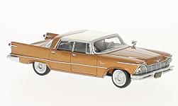 Modelcar - <strong>Imperial</strong> Crown 4-Door Southampton, copper/white, 1957<br /><br />Neo, 1:64<br />No. 225224