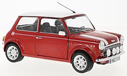 Modelcar - <strong>Mini</strong> Cooper 1.3i Sport Pack, red/white<br /><br />Solido, 1:18<br />No. 225295