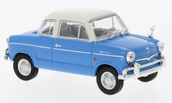 Modellauto - <strong>NSU</strong> Prinz 30E, blau/weiss, 1959<br /><br />WhiteBox, 1:43<br />Nr. 225465