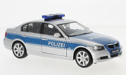 Modellauto - <strong>BMW</strong> 330I, Polizei<br /><br />Welly, 1:24<br />Nr. 225537