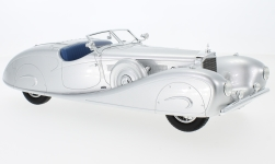 Modellauto - <strong>Mercedes</strong> 500K Erdmann & Rossi, silber, 1936<br /><br />CMF, 1:18<br />Nr. 225539