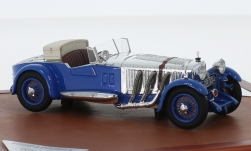 Modelcar - <strong>Mercedes</strong> 680 S Barker Tourer, blue/chrom, 1929<br /><br />CMF, 1:43<br />No. 225540
