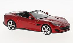 Modelcar - <strong>Ferrari</strong> Portofino, metallic-red<br /><br />Look Smart, 1:43<br />No. 225546