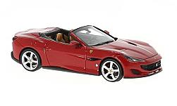 Modelcar - <strong>Ferrari</strong> Portofino, dark red<br /><br />Look Smart, 1:43<br />No. 225550
