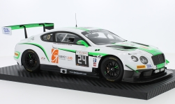 Modellauto - <strong>Bentley</strong> Continentaal GT3, RHD, No.24, Team Parker Racing, Blancpain GT Serie, 24h Spa, I.Loggie/C.MacLeod/A.Meyrick/T.Onslow-Cole, 2016<br /><br />TrueScale Miniatures, 1:18<br />Nr. 225630