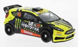 Modelcar - <strong>Ford</strong> Fiesta RS WRC, No.46, Monster, Rallye Monza, V.Rossi/C.Cassina, 2017<br /><br />IXO, 1:43<br />No. 225688