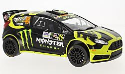 Modelcar - <strong>Ford</strong> Fiesta RS WRC, No.46, Monster, Rallye Monza, V.Rossi/C.Cassina, 2014<br /><br />IXO, 1:18<br />No. 225724
