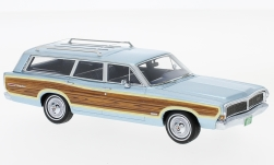 Modelcar - <strong>Ford</strong> LTD Country Squire, metallic-light blue/Decorated, 1968<br /><br />Neo, 1:43<br />No. 225830