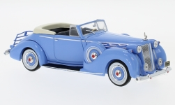 Modelcar - <strong>Packard</strong> Victoria Convertible, light blue, 1938<br /><br />IXO, 1:43<br />No. 225834