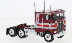 Modelcar - <strong>Peterbilt</strong> 352 Pacemaker, dark red/Decorated, Pacemaker, 1979<br /><br />IXO, 1:43<br />No. 225839