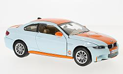 Modelcar - <strong>BMW</strong> M3,  Gulf<br /><br />Motormax, 1:24<br />No. 225946