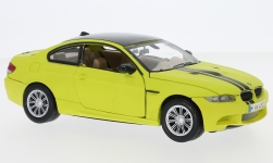 Modelcar - <strong>BMW</strong> M3 Coupe, mattgelb/black, 2008<br /><br />Motormax, 1:24<br />No. 225951