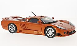 Modellauto - <strong>Saleen</strong> S7, metallic-orange<br /><br />Motormax, 1:18<br />Nr. 226032