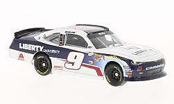 Modellauto - <strong>Chevrolet</strong> Camaro, No.9, JR Motorsports, Liberty University, Nascar, W.Byron, 2017<br /><br />Lionel Racing, 1:64<br />Nr. 226076