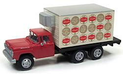 Modellauto - <strong>Ford</strong> Refrigerated Delivery Truck, rot, Schaefer Beer, 1960<br /><br />Classic Metal Works, 1:87<br />Nr. 226150