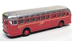 Modellauto - <strong>GMC</strong> TDH-3610, Pacific Electric RR  (Santa Monica), Transit Bus<br /><br />Classic Metal Works, 1:87<br />Nr. 226161
