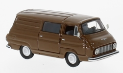 Modelcar - <strong>Skoda</strong> 1203 box wagon, brown, 1968<br /><br />BoS-Models, 1:87<br />No. 226197