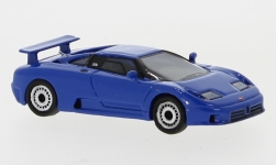 voiture miniature - <strong>Bugatti</strong> EB 110, bleu, 1991<br /><br />BoS-Models, 1:87<br />N° 226202