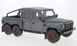 Modelcar - <strong>Land Rover</strong> Defender Flying Huntsman 6x6, mattdunkelgrau, RHD, 2015<br /><br />CMF, 1:18<br />No. 226356