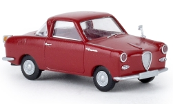 Modellauto - <strong>Glas</strong> Goggomobil Coupe, purper<br /><br />Brekina, 1:87<br />Nr. 226483