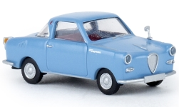 Modellauto - <strong>Glas</strong> Goggomobil Coupe, lichtblauw<br /><br />Brekina, 1:87<br />Nr. 226485