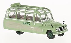 ModelCar - <strong>Hanomag</strong> L 28, Touring, Lohner Bus<br /><br />Brekina Starline, 1:87<br />No. 226621