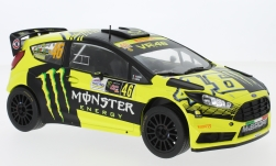 Modelcar - <strong>Ford</strong> Fiesta RS WRC, No.46, Monster, Rallye Monza, V.Rossi/C.Cassina, 2015<br /><br />IXO, 1:18<br />No. 226642