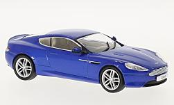Modellauto - <strong>Aston Martin</strong> DB9 Coupe, metallic-blau, RHD<br /><br />Oxford, 1:43<br />Nr. 226651