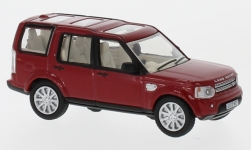 Modellauto - <strong>Land Rover</strong> Discovery 4, metallic-rot<br /><br />Oxford, 1:76<br />Nr. 226673