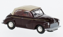 ModelCar - <strong>Morris</strong> Minor Convertible, dunkelrot/beige<br /><br />Oxford, 1:76<br />No. 226682