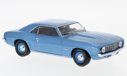Modelcar - <strong>Chevrolet</strong> Camaro, metallic-blue, 1969<br /><br />WhiteBox, 1:43<br />No. 226691