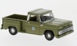 Modellauto - <strong>Chevrolet</strong> Stepside Pick Up, Bell System, 1965<br /><br />Oxford, 1:87<br />Nr. 226778