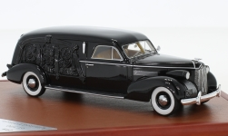 Modellauto - <strong>LaSalle</strong> S&S Hearse, schwarz, 1939<br /><br />CMF, 1:43<br />Nr. 226806