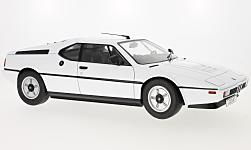 Modellauto - <strong>BMW</strong> M1 (E26), weiss, 1978<br /><br />KK-Scale, 1:12<br />Nr. 226832