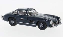 Modelcar - <strong>Mercedes</strong> 300 SL Coupe (W198), dark blue<br /><br />Schuco, 1:43<br />No. 226953