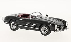 Modelcar - <strong>Mercedes</strong> 300 SL Roadster (W198), black<br /><br />Schuco, 1:43<br />No. 226954