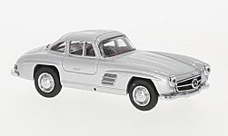 Modellauto - <strong>Mercedes</strong> 300 SL Coupe (W198), silber<br /><br />Schuco, 1:64<br />Nr. 227049