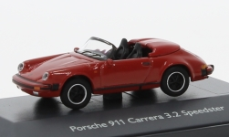 Modelcar - <strong>Porsche</strong> 911 Carrera 3.2 Speedster, red<br /><br />Schuco, 1:87<br />No. 227064