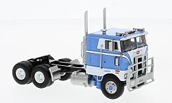 Modelcar - <strong>Peterbilt</strong> 352 Pacemaker, white/blue, 86 inch Sleeper Cab, 1979<br /><br />Neo, 1:64<br />No. 227069