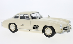 Modelcar - <strong>Mercedes</strong> 300 SL (W198), light beige, 1955<br /><br />Minichamps, 1:18<br />No. 227219