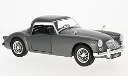 Modellauto - <strong>MG</strong> A MKI A1500, metallic-dunkelgrau, 1957<br /><br />Triple 9 Collection, 1:18<br />Nr. 227441