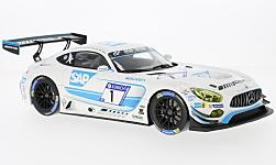 Modellauto - <strong>Mercedes</strong> AMG GT3, No.1, AMG Black falcon, SAP, 24h Nürburgring, Y.Buurman/A.Christodoulou/M.Engel/M.Metzger, 2017<br /><br />I-Norev, 1:18<br />Nr. 227474
