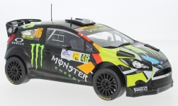 Modellauto - <strong>Ford</strong> Fiesta RS WRC, No.46, Monster, Rally Monza, V.Rossi/C.Cassina, 2012<br /><br />IXO, 1:18<br />Nr. 227548