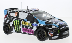 Modelcar - <strong>Ford</strong> Fiesta RS WRC, No.15, Monster, Rallye WM, Rallye Catalunya, K.Block/A.Gelsomino, 2014<br /><br />IXO, 1:18<br />No. 227549