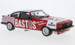 Modelcar - <strong>Ford</strong> Capri 3.0S, No.8, Serge Power Bastos Racing, Bastos, 24h Spa, E.Soto/P.Honegger/J-P.Libert, 1980<br /><br />Minichamps, 1:18<br />No. 227638