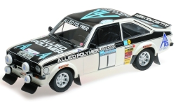 Modelcar - <strong>Ford</strong> Escort MK II RS 1800, No.1, Allied Polymer Group, Allied Polymer, Rallye RAC Lombard, T.Mäkinen/H.Liddon, 1975<br /><br />Minichamps, 1:18<br />No. 227640