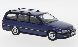 Modelcar - <strong>Opel</strong> Omega A2 Caravan, metallic-blue, 1990<br /><br />WhiteBox, 1:43<br />No. 227775